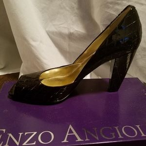 Enzo Angiolini Shoes - Enzo Angiolini Peep Toe Heel